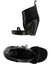 Rick Owens Sandals - Lyst