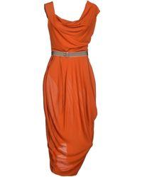 Vivienne Westwood Red Label | 3/4 Length Dress | Lyst