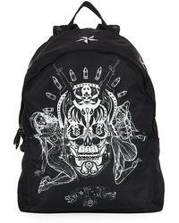 Givenchy Tattoo Print Nylon Backpack - Lyst