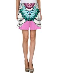 Manish Arora Mini Skirt purple - Lyst