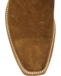 Lucchese - + Romia Suede Western Boots - Lyst