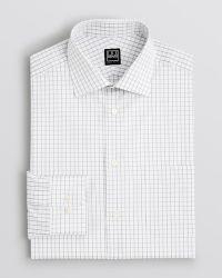 Ike Behar Check Dress Shirt - Classic Fit - Lyst