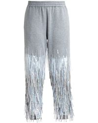 Ashish Fringed Sequin Tracksuit Bottoms - Lyst