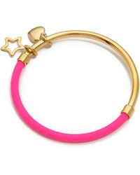 Marc By Marc Jacobs Heart Star Hula Hoop Bangle  - Lyst