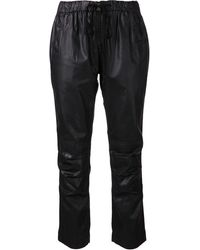 Citizens Of Humanity Leatherette Kai Trousers - Lyst