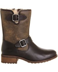 Ugg Chaney Buckle Boot - Lyst