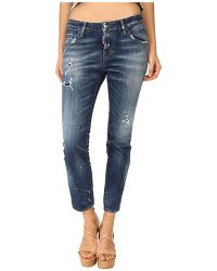 DSquared² Cool Girl Jeans In Blue - Lyst