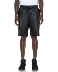 Laer Leather Ball Short - Lyst