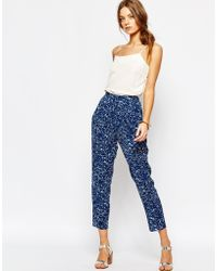 Suncoo - Uncoo Printed Trousers - Lyst