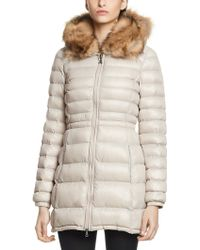 Patrizia Pepe Parka Jacket in Cotton with Hood - Lyst