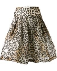 Temperley London Leopard Skirt - Lyst