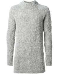 Damir Doma Chunky Knit Sweater - Lyst