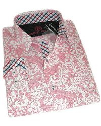 Giorgio Bellini - Pink Elephant Sport Shirt Phantom Slim Collection - Lyst
