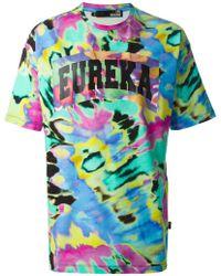 Love Moschino Eureka Tie-Dye T-Shirt - Lyst