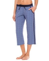 DKNY Seaside Bliss Cropped Pants - Lyst