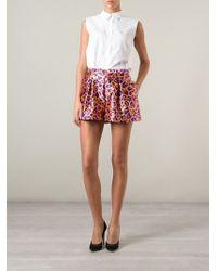 Peter Pilotto - Honeycomb Print Shorts - Lyst