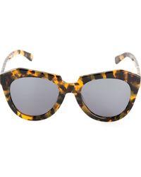 Karen Walker The Number One Sunglasses - Lyst