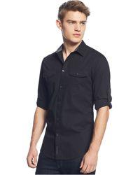 Calvin Klein Jeans Button-front Shirt - Lyst
