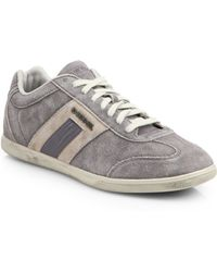Diesel Suede Happy Hour Sneakers - Lyst