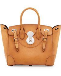 Pink Pony - Ricky 33 Medium Leather Satchel Bag - Lyst