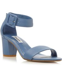 Dune Fri Two Part Low Heel Sandals - Lyst