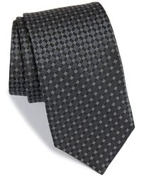 Michael Kors - 'checkmate' Silk Tie - Lyst