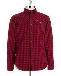G-star Raw Checkered Tailor Sport Shirt - Lyst