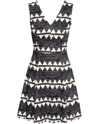H&M Jersey Dress - Lyst