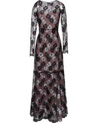 Nina Ricci Lace Gown - Lyst