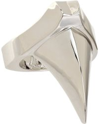 Dominic Jones - White Gold Claw Ring - Lyst
