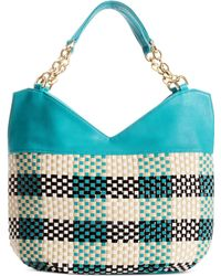 Big Buddha Crete Double Handle Hobo - Lyst