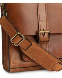 H&M - Leather Messenger Bag - Lyst