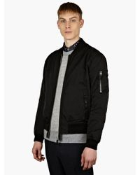 Our Legacy Mens Black Bomber Jacket - Lyst