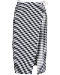 Altuzarra Knee Length Skirt black - Lyst