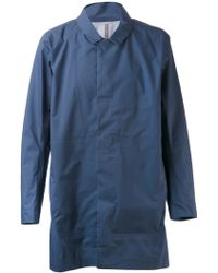 Arc'teryx Veilance Blue Partition Coat - Lyst