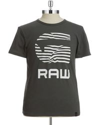G-star Raw Graphic Tee - Lyst