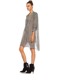 Etoile Isabel Marant Cray Printed Dress - Lyst