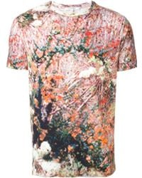 Carven Abstract Print T-Shirt - Lyst