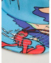 Love Moschino - Tropical Alien Print Cap - Lyst