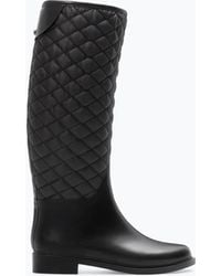 Zara Combined Rubber Boot - Lyst