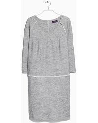Violeta by Mango Knit Linen-Blend Dress - Lyst