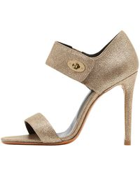 Mulberry Willow High Heel Sandal - Lyst