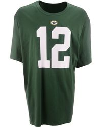 Nike Mens Aaron Rodgers Green Bay Packers Pride Player Tshirt - Lyst
