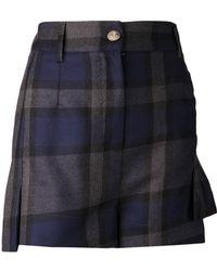Vivienne Westwood Plaid Shorts - Lyst