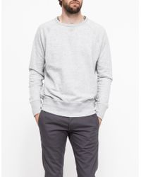 Cheap Monday First Sweat In Light Grey - Lyst