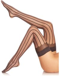 Falke Strap Couture Thigh Highs - Lyst