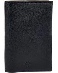 Mulberry Leather Passport Holder - Lyst