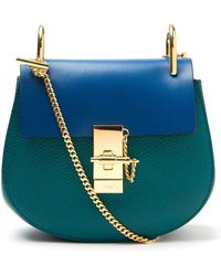 Chloé Mini 'Drew' Crossbody Bag - Lyst