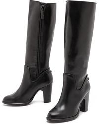 Rag & Bone Lilford Tall Boots  Black - Lyst