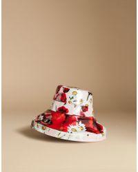 Dolce & Gabbana | Rain Hat In Printed Cotton | Lyst